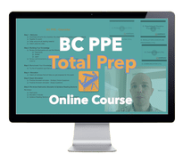 BC PPE (law and ethics) APEGBC exam course
