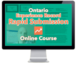 ONT Experience Record Course