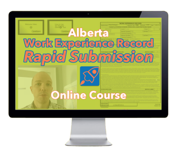 Our Alberta Work Experience Record 'Rapid Submission' Online Course allows you to access your course content from anywhere you have an internet connection.