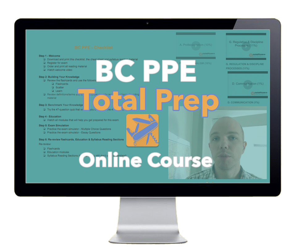 "BC PPE ""Total Prep"" Online Course"
