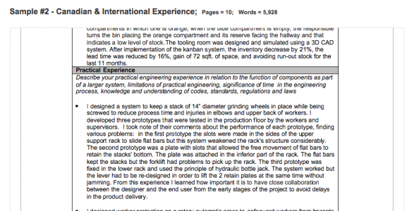 The 2nd experience record is one with foreign experience.