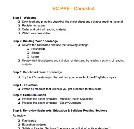 apegbc ppe essay