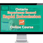 Ontario Experience Record Online Course for PEO submission