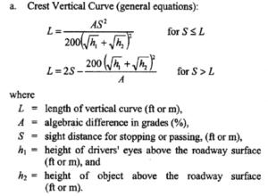 3 - vertical crest formula