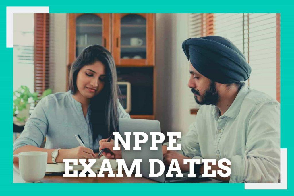 NPPE EXAM DATES